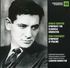 Harold Shapero – Symphony For Classical Orchestra, Igor Stravinsky – Symphony Of Psalms