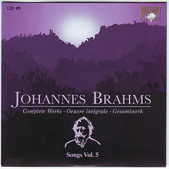Johannes Brahms Edition: Complete Works (CD49)