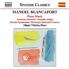 Manuel Blancafort Piano Music CD 4
