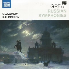Naxos 25th Anniversary The Great Classics Box #6 - CD 10 Glazunov & Kalinnikov