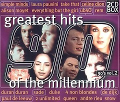 Greatest Hits Of The Millennium 90's Vol.2 (CD1)