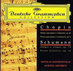 Sonata & Polonaise For Piano & Cello, Adagio & Scenes From Childhood