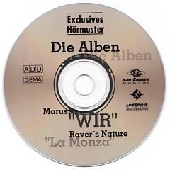 Raver's Nature - Wir - La Monza - Die Alben (Promo CD) - Marusha
