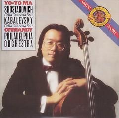 Shostakovich And Kabalevsky Cello  Concertos