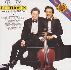 Beethoven Complete Sonatas For Cello And Piano, Vol.3