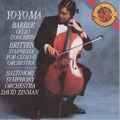 Barber And Britten Cello Concertos