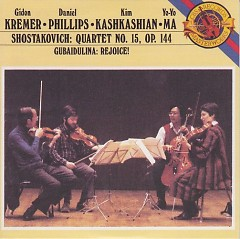 Shostakovich Quartet No.15 Gubaidulina Rejoice!