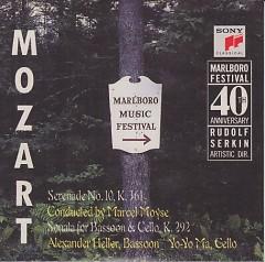 Mozart  Serenade No. 10, Sonata For Bassoon And Cello
