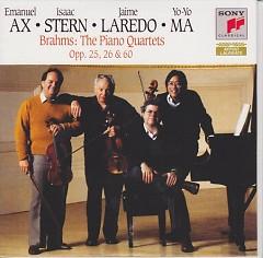 Brahms  The Piano Quartets Disc 2