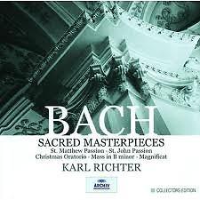 Bach: Sacred Masterpieces Vol 2 No.1