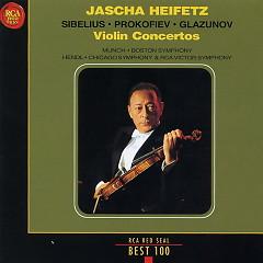 Sibelius, Prokofiev,Glazunov Violin Concertos