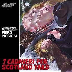 Sette Cadaveri Per Scotland Yard OST (Pt.1) - Piero Piccioni