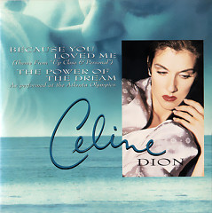 Because You Loved Me (Australian CD-MAXI)