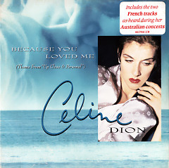 Because You Loved Me (USA CD-MAXI)