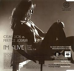 I'm Alive 2009 (Promo CD-MAXI) - Celine Dion