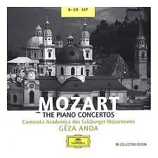 Mozart: The Piano Concertos Disc 3 - Géza Anda