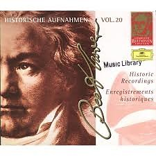Complete Beethoven Edition, Vol. 20: Historical Recordings CD3