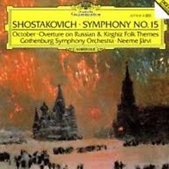Shostakovitch:The Symphonies CD13 - Neeme Jarvi,Scottish Chamber Orchestra,Gothenburg Symphony Orchestra