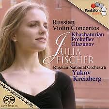 Russian Violin Concertos (Khachaturian, Prokofiev, Glazunov)
