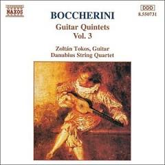 Boccherini - Guitar Quintets, Vol. 3 - Zoltan Tokos