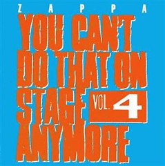 You Can't Do That On Stage Anymore, Vol. 4 (CD1)