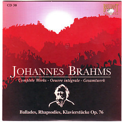 Johannes Brahms Edition: Complete Works (CD30)
