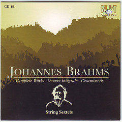 Johannes Brahms Edition: Complete Works (CD19)
