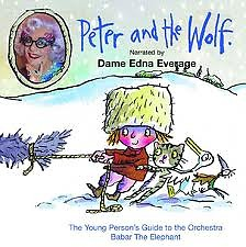 Peter and the Wolf Narrated by Dame Edna Everage CD3 - Dame Edna Everage