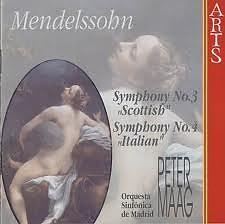 Mendelssohn Symphonies Nos. 3 & 4