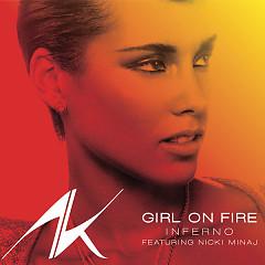 Girl On Fire (Promo CD)