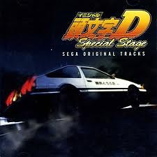 Initial D Arcade Stage Sega Original Tracks (CD4)