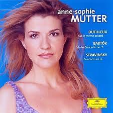 Dutilleux, Bartók, Stravinsky: Violin Concertos