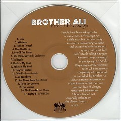 Rites of Passage (CD1) - Brother Ali