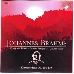 Johannes Brahms Edition: Complete Works (CD31)
