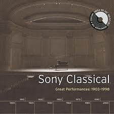 Sony Classical - Great Performances 1903-1998 CD1 No.1