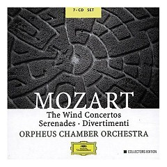 The Wind Concertos Serenades Divertimenti CD7