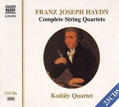 Franz Joseph Haydn: Complete String Quartets CD 9 - Kodály Quartet