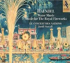 Haendel Water Music & Music For The Royal Fireworks CD 2