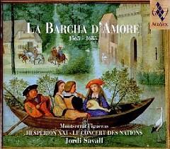 La Barcha D'Amore 1563-1685