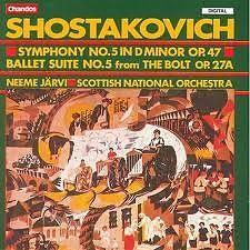 Shostakovitch - Symphonies CD 5