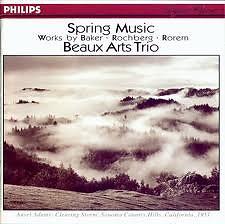 Baker/ Rochberg/ Rorem - Piano Trios