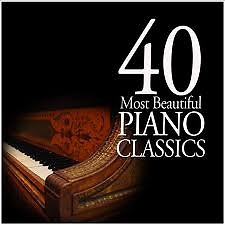 40 Most Beautiful Piano CD 1