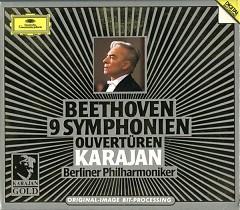 Karajan Gold Vol 1 CD 1: Beethoven 9 Symphonien Ouverturen
