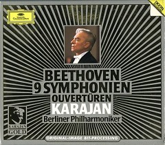 Karajan Gold Vol 1 CD 2: Beethoven 9 Symphonien Ouverturen
