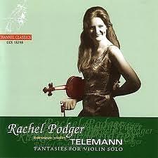 Telemann 12 Fantasies For Solo Violin - Rachel Podger
