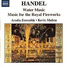Haendel Water Music & Fireworks Music CD 1