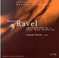 Ravel Piano Works CD 2  - Jacques Fevrier
