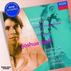 Decca Sound CD 6 - Joshua Bell - Barber, Walton & Bloch - Joshua Bell,Baltimore Symphony Orchestra
