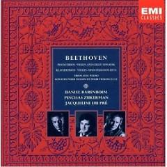Beethoven - Piano Trios, Violin And Cello Sonatas CD 2