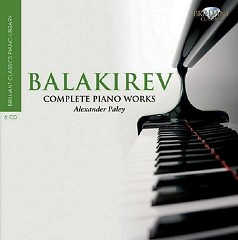 Mily Balakirev Complete Piano Works CD 1 - Alexander Paley